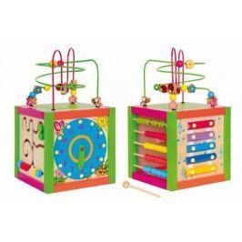 Motorické hračky - Didaktická kostka barevná - poškozený obal