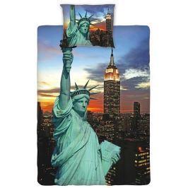 Dadka Bavlněné povlečení New York night, 140 x 200 cm, 140 x 200 cm