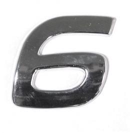 Znak 6 samolepící PLASTIC