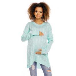 Be MaaMaa Těhotenský, kojící svetřík ALLY - mátový
