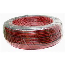 TLE Kabel  dvojlinka pro LED pásek černo/rudá (balení 200m)