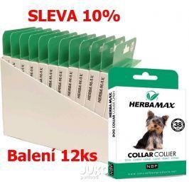 Herba Max Dog collar 38cm antipar. obojek-12KS