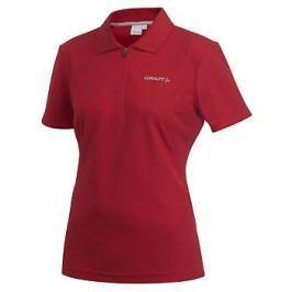 Craft Dámské triko  Polo W, L, Červená