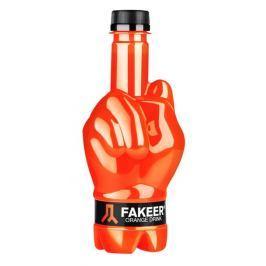 Fakeer - Orange Drink, pomerančová limonáda se stévií ochucená limonáda