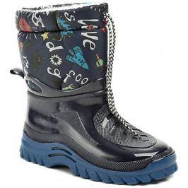 Italy Top Lux 632 modré dětské sněhule, 27