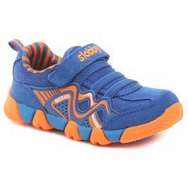 Cortina.be Slobby 47-0434-U1 modro oranžové dětské tenisky, 24