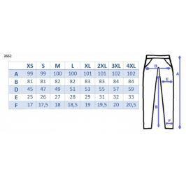 Be MaaMaa Těhotenské kalhoty letní bez břišního pásu - tmavý jeans, M