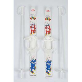 Dětské lyže s vázáním 70 cm