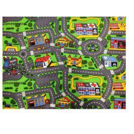 Dětský koberec City life, 140x200 cm