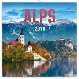 Presco Group Alpy - nástěnný kalendář 2018