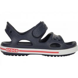 Crocs Dětské sportovní sandály  Crocband II Sandal, 31-32 (J1), Navy/White