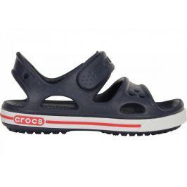 Crocs Dětské sportovní sandály  Crocband II Sandal, 24-25, Volt green/Navy