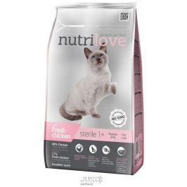 Nutrilove kočka granule STERILE fresh kuřecí 1,4kg