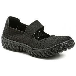 ROCK Spring OVER černá dámská gumičková obuv, 41