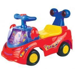 EURO BABY Odstrkovadlo,odrážedlo, jezdítko - FUNNY CAR - červené