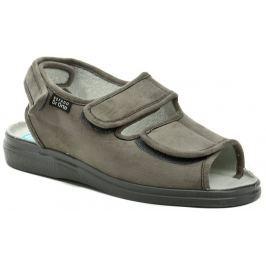 Dr. Orto - Befado Dr. Orto 733M006 šedé pánské zdravotní sandály, 46