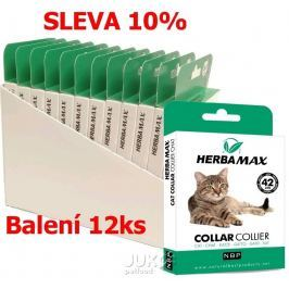 Herba Max Cat collar 42cm antipar. obojek-12KS