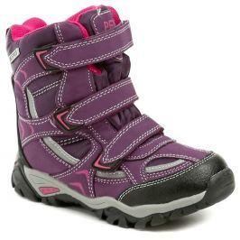 Peddy PX-531-30-01 fialové dívčí zimní boty, 34