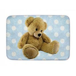 Dětský koberec Ultra Soft Medvídek modrý, 70 x 100 cm
