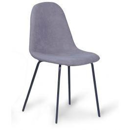 Tempo Kondela Jídelní židle, šedá / černá, CALUM