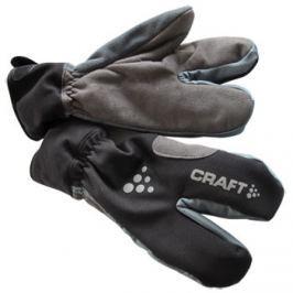 Craft Tříprsté cyklistické rukavice  Thermal Lobster, M, Černá