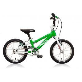 Woom 14' - Dětské kolo  2 zelené
