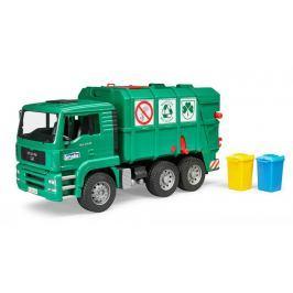 Bruder - Popelářské auto MAN-TGA zelené