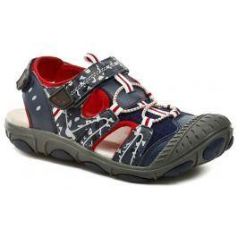 ROCK Spring Grenada navy red dětské sandály, 33