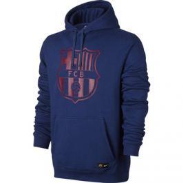 Nike Pánská mikina s kapucí  NSW FC Barcelona tmavě modrá::M