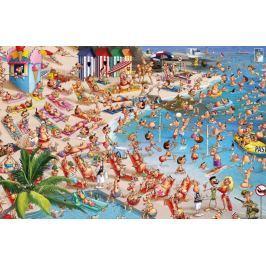 PIATNIK Puzzle  1000 dílků - F.Ruyer: Pláž