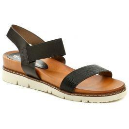 Piccadilly Claudia Ghizzani 2-030402 černé dámské sandály, 39