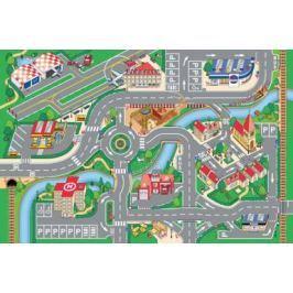 Dětský koberec Hrací koberec Město  s letištěm 1001062, koberec