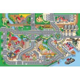 Dětský koberec Hrací koberec Město  s přístavem 1001063, koberec