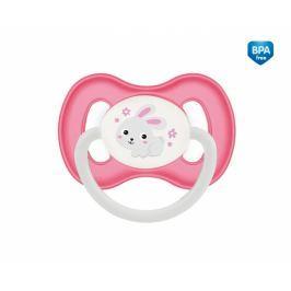 Canpol Babies Dudlík anatomický  18m+ C, Bunny&Company -  králiček růžový