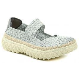 ROCK Spring ZION Silver stříbrná dámská gumičková obuv, 40