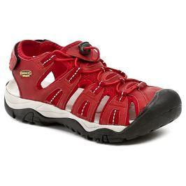 ROCK Spring 49010 červené dámské letní sandály, 36