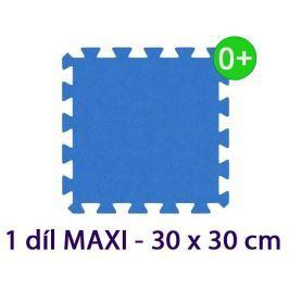 MALÝ GÉNIUS Pěnový koberec  - MAXI 1 dílek, 16mm, modrý