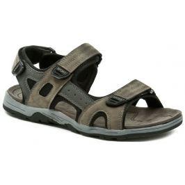 Magnus 65-0255-c1 hnědé pánské sandály, 41