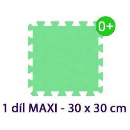 MALÝ GÉNIUS Pěnový koberec  - MAXI 1 dílek, 16mm, zelený