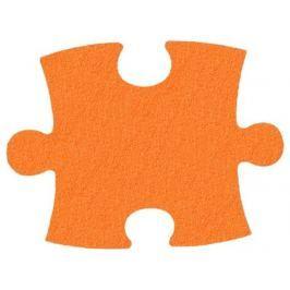 MALÝ GÉNIUS Pěnový koberec KLASIK silný (oranžový)