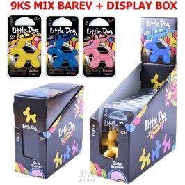 Osvěžovač vzduchu-MIX 9ks+ Prodej box Zdarma