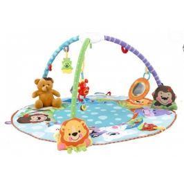 EURO BABY Hrací deka s melodií - Zvířátka/medvídek
