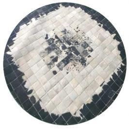Tempo Kondela Luxusní koberec, kůže, typ patchworku, 200x200 cm, KOBEREC KOŽA typ9