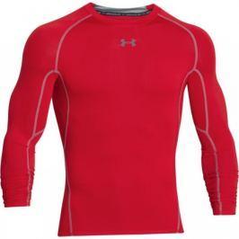 Under Armour Kompresní tričko s dlouhým rukávem  HG, L, Červená