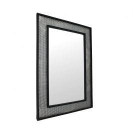 Tempo Kondela Zrcadlo, stříbrná / černá, ELISON TYP 9