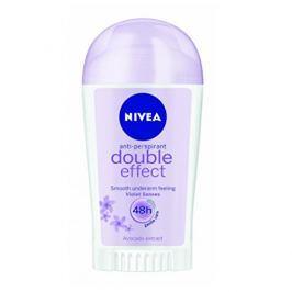 Nivea Tuhý antiperspirant Double Effect Violet Senses (Antiperspirant) 40 ml
