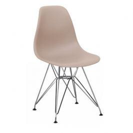 Tempo Kondela Židle, teplá šedá, ANISA NEW
