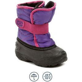 Kamik Snowbug3 fialové dětské zimní sněhule, 24