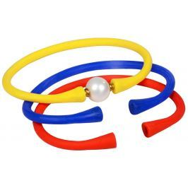 JwL Luxury Pearls Sada barevných náramků s pravou perlou JL0329
