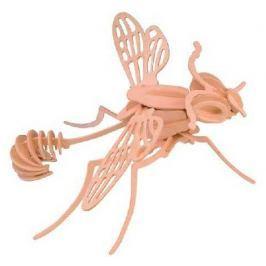 Dřevěné 3D puzzle dřevěná skládačka hmyz - Vosa E032
